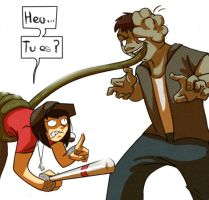 Team Fortress and  Left 4 Dead by Metay