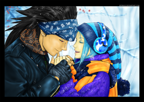 FairyTail - When your hands touched the cold by JeyHaily