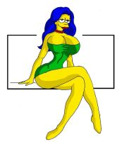 Marge's Makeover by Dynamoob