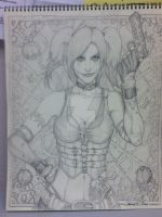 Harley Pencil Complete by PatrickOlsen