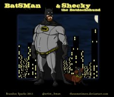 BatSMan and Shecky by thesometimers