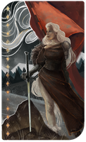 Dragon Age Tarot - Cousland by fjorgael