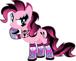 Gothic Pinkie by TheShadowStone
