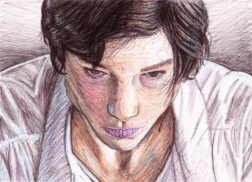 Ezra Miller by Changingtherain