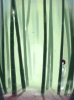bamboo forest princess by Essu