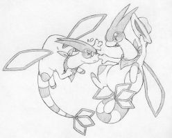 Flygon request 2 by Momogirl