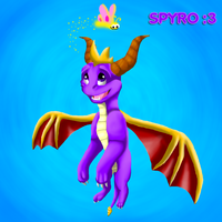 Spyro :3 by KyuubiCore