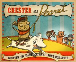 Chester and Peanut (book cover) by Guill123