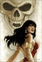 Vampirella 20 Cover Colors by FabianoNeves