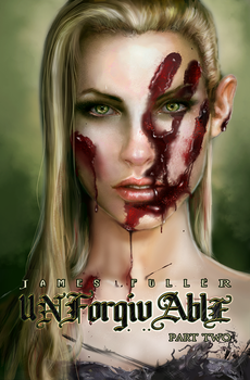Unforgivable Pt 2 Book Cover by UberVestigium