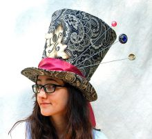 Full Sized Top Hat: Classic Mad Hatter by TinyTopHats