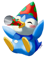 Birthday Piplup by Togechu