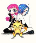 JESSIE AND JAMES (TEAM ROCKET) Pokemon by Aznponie12