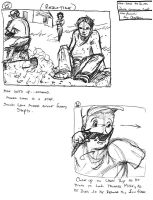 Doritos commercial storyboards 7 by NM8R-KJC