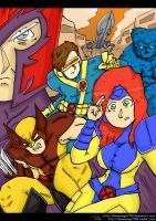 X-Men by Demonology7789