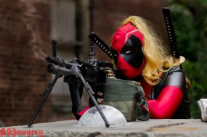 Custom LadyDeadpool by Bethanie - The Pig! by ksmith3620