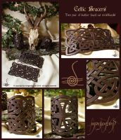 Celtic knot wristbands by morgenland