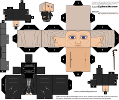 Cubee - The 1st Doctor by CyberDrone