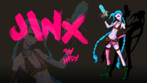 Jinx Wallpaper by andy201504