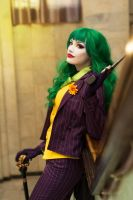 Fem Joker  cosplay by HydraEvil