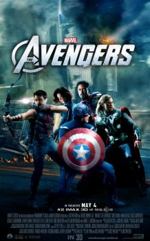 ''The Avengers'' - movie poster 2 by AndrewSS7