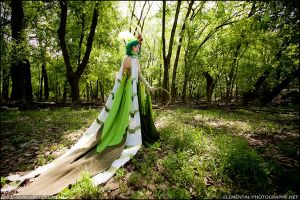 FFIV: Rydia of the Mist by MissCordie