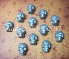 Death Eater Candy Skulls- Harry Potter by TheCopperDragon2004