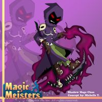 Magic Meisters: Shadow Mage Class Concept by PolyMune