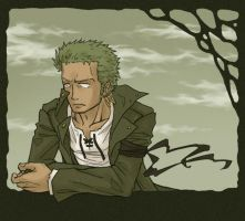 Lonely Zoro by SybLaTortue