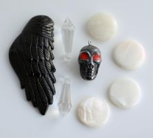 Occult Jewelry Findings FOR SALE by MonsterBrandCrafts