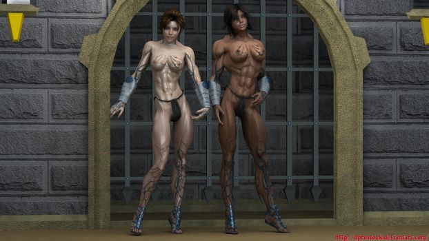 Slave Warriors by dprostock