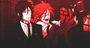 Black Butler: Sebby x Grell by Madame--Black