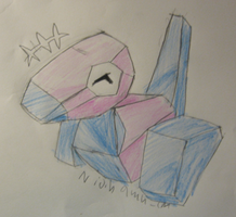 Porygon is Happy by Nijihamu-can
