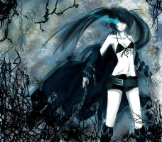 Black Rock Shooter by Hysteria-Ari