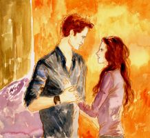Edward and Bella - BD by LittleSeaSparrow