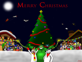 Merry Christmas 2013 by BluebottleFlyer