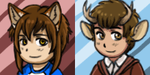 Thomas and Lucas Buddy Icons by TheIncredibleHibby