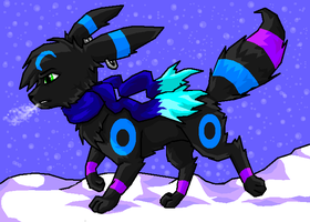 Crescent the Umbreon by xXCystalTheWolfXx