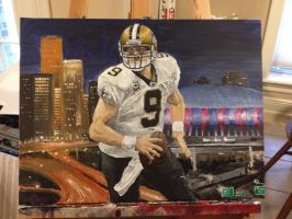 Drew Brees by SaintRPh