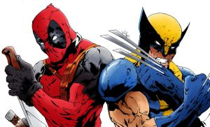 Deadpool and Wolverine by Echudin