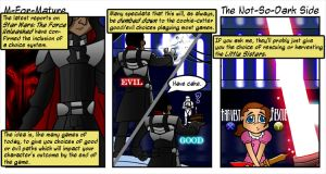 The Not-So-Dark Side by MFM-comics