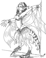 Belly Dancing Basilisk by Khimera