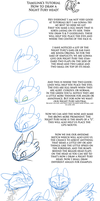 Night Fury head Tutorial by yamilink