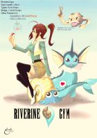 Pokemon OC Gym Leader Riverine by sdejanip