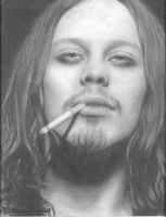 Smoking Ville Valo by Gringa87