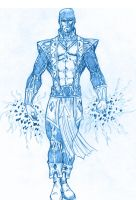 BLUE SKETCH 38  Jack of Heart by Mich974