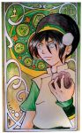 Toph Nouveau by AndreaOfTheLand