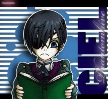 Ciel Reading by Diana-hiwatari