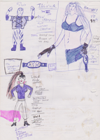 HWF 2005 drawing 04 Women by WhippetWild