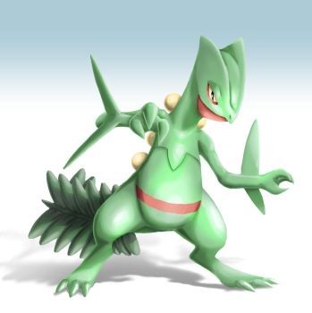Sceptile for Smash Bros. by Yfighter2